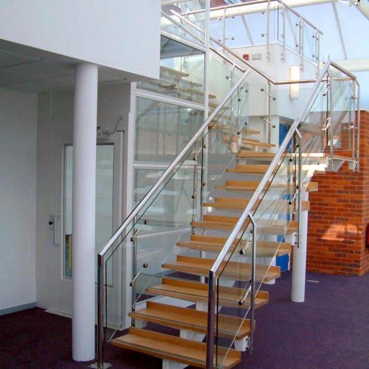 Sir Joseph Hotung Centre glass pyramid staircase BBF Fielding architecture