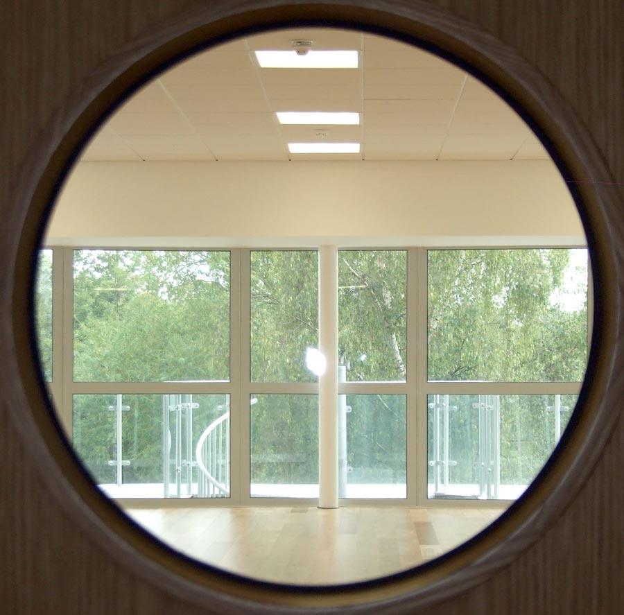 Sea Cadets interior through inner door