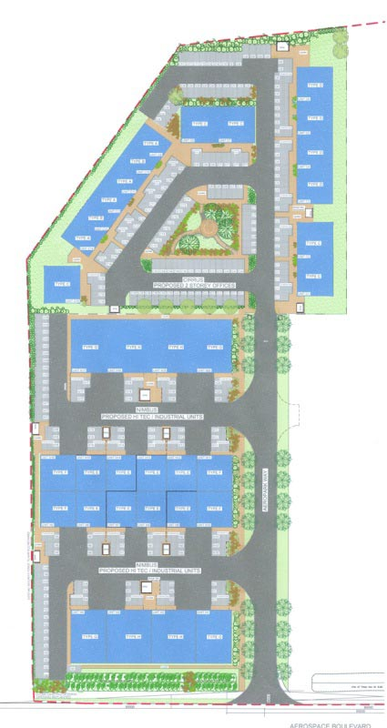 Aeropark site plan