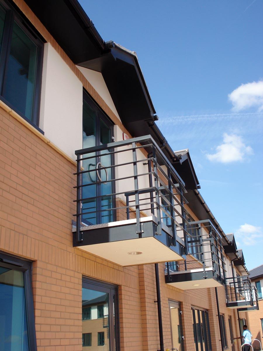 Aeropark Farnborough balcony detail